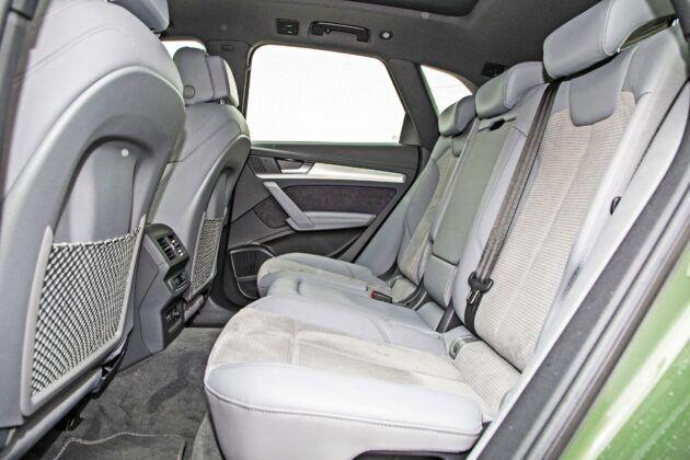 Audi Q5 - tylna kanapa