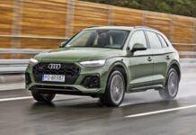 Audi Q5 - przód