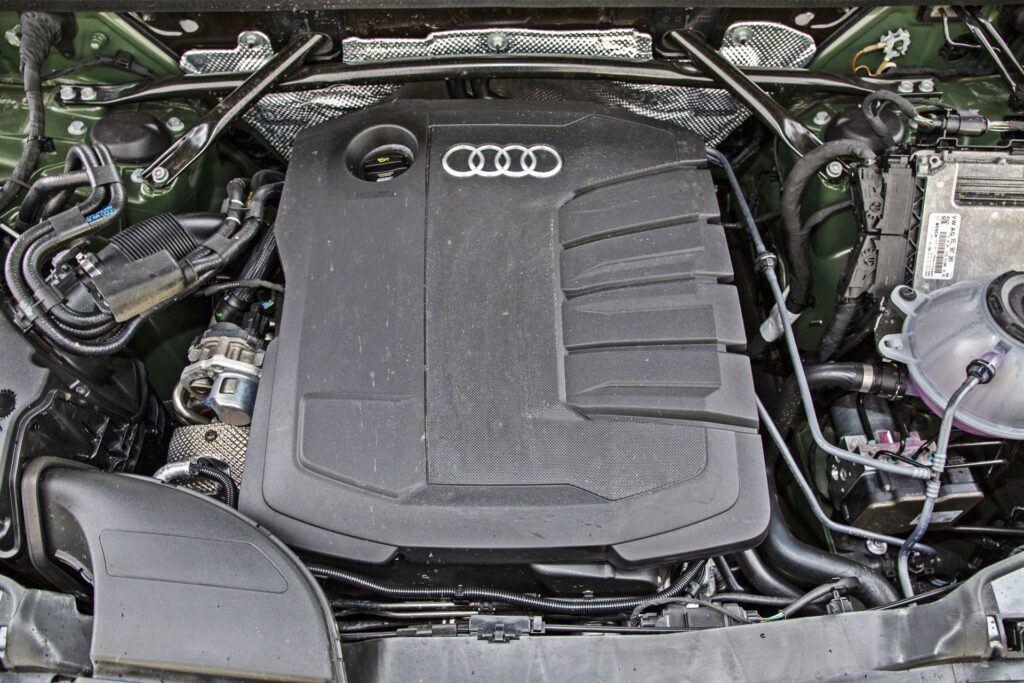 Audi Q5 - silnik