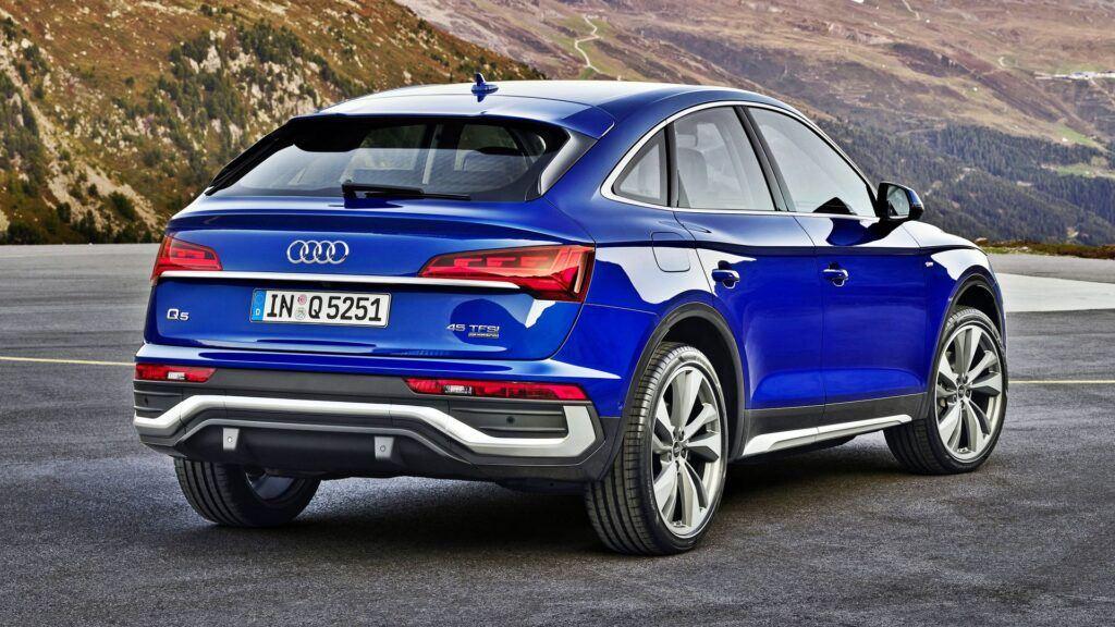Audi Q5 Sportback - tył