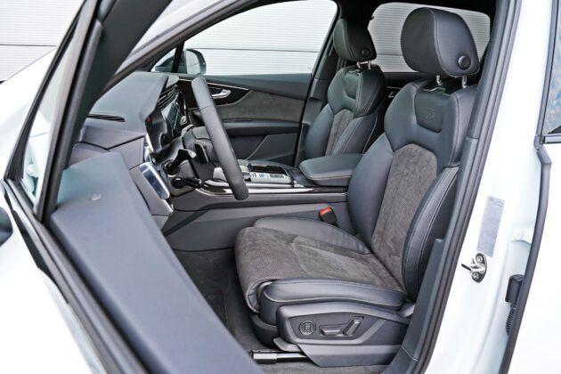 Audi Q7 - fotele przednie