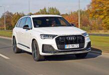 Audi Q7 - przód
