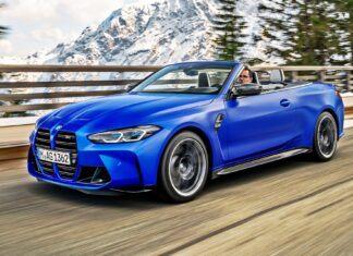 BMW M4 Competition Cabrio – oficjalne zdjęcia i informacje