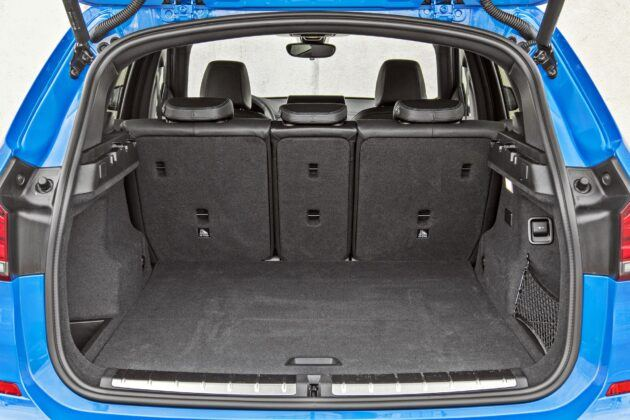BMW X1 - bagażnik