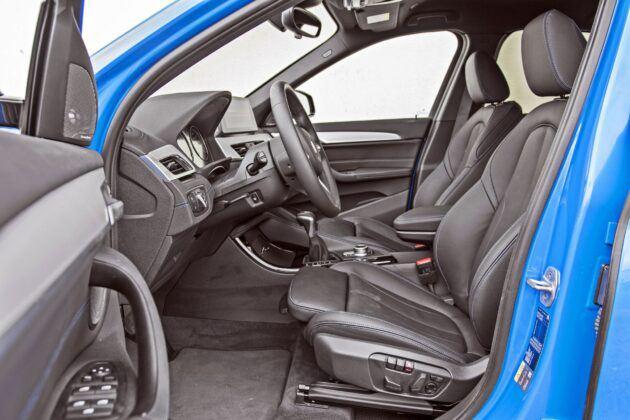 BMW X1 - fotele przednie