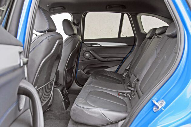 BMW X1 - tylna kanapa