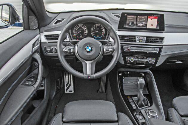 BMW X1 - deska rozdzielcza