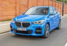 BMW X1 - przód