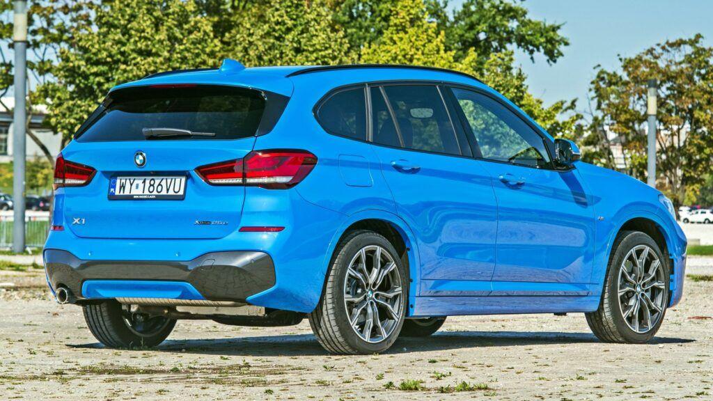BMW X1 - tył