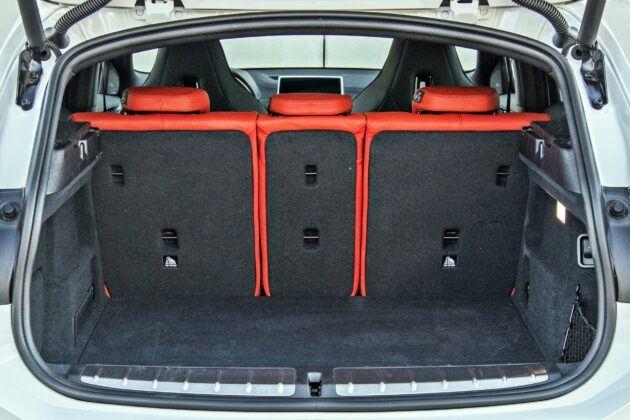 BMW X2 - bagażnik
