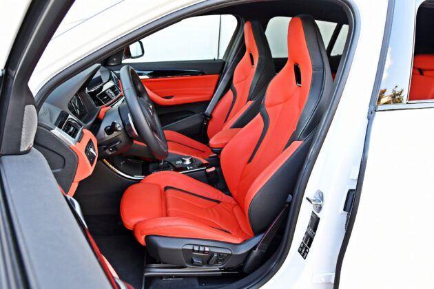 BMW X2 - fotele przednie