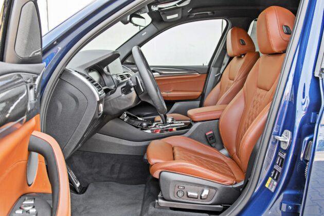BMW X3 - fotele przednie