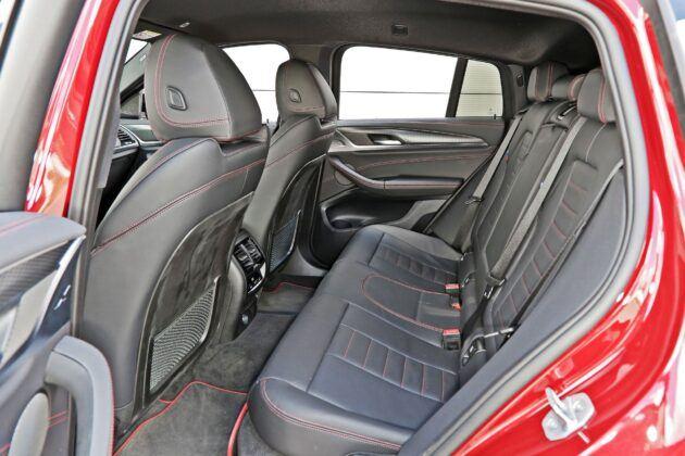 BMW X4 - tylna kanapa