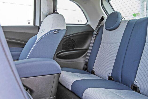 Fiat 500 - tylna kanapa
