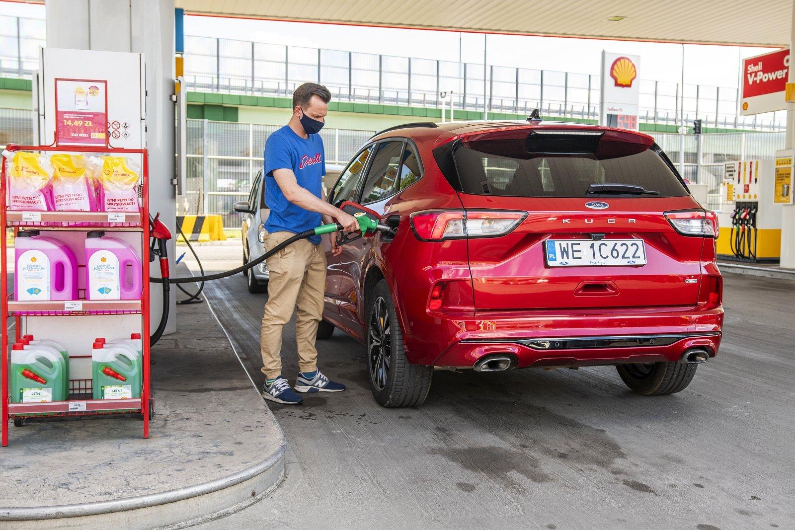 ford kuga plug-in hybrid hybryda 2021 test zużycie paliwa