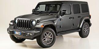 Jeep Wrangler 4xe - przód