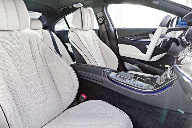 Mercedes CLS - fotele przednie