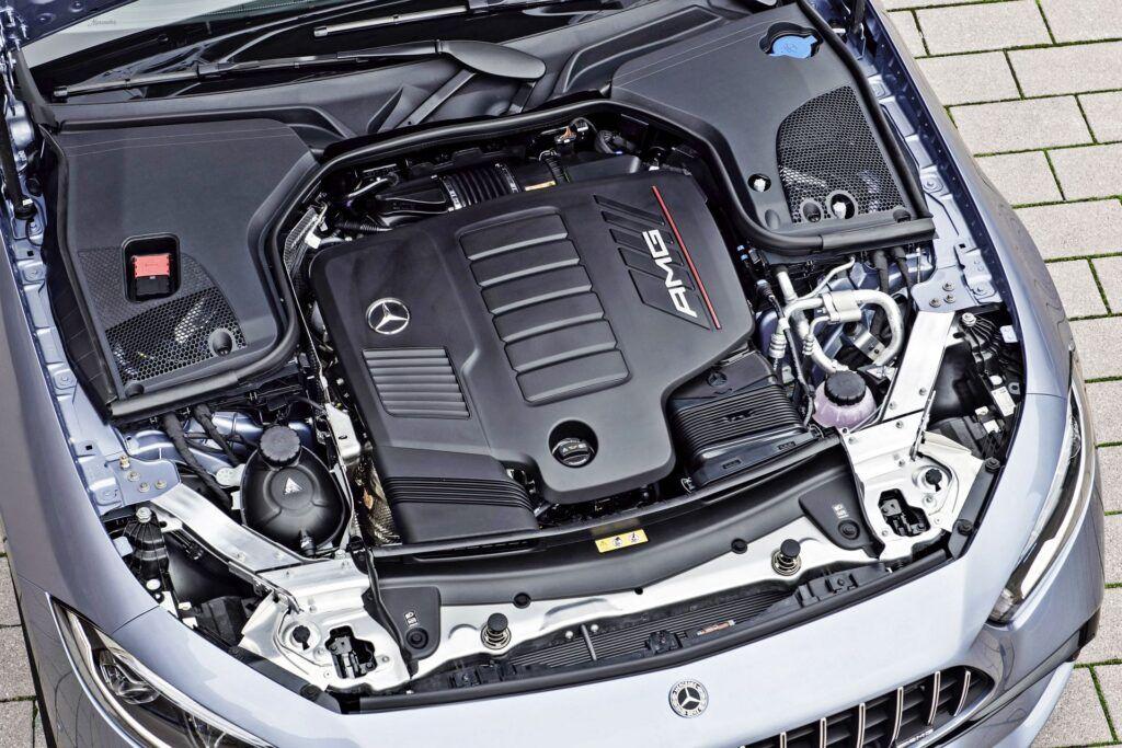 Mercedes-AMG CLS - silnik