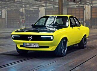 Opel Manta GSe ElektroMOD – klasyka w nowym wydaniu