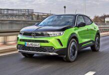 Opel Mokka-e - przód