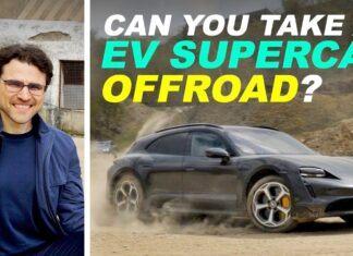 Nowe Porsche Taycan Cross Turismo – test i wrażenia z jazdy