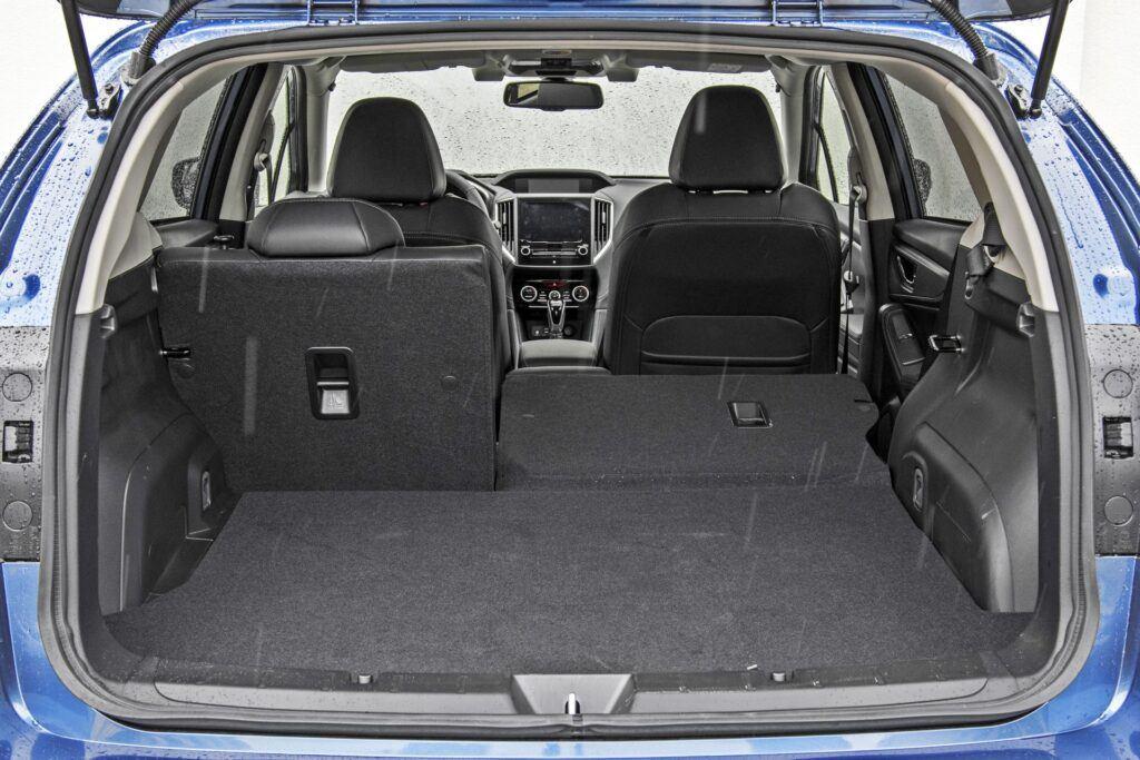 Subaru Impreza - bagażnik