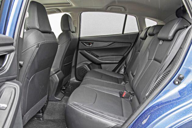 Subaru Impreza - tylna kanapa