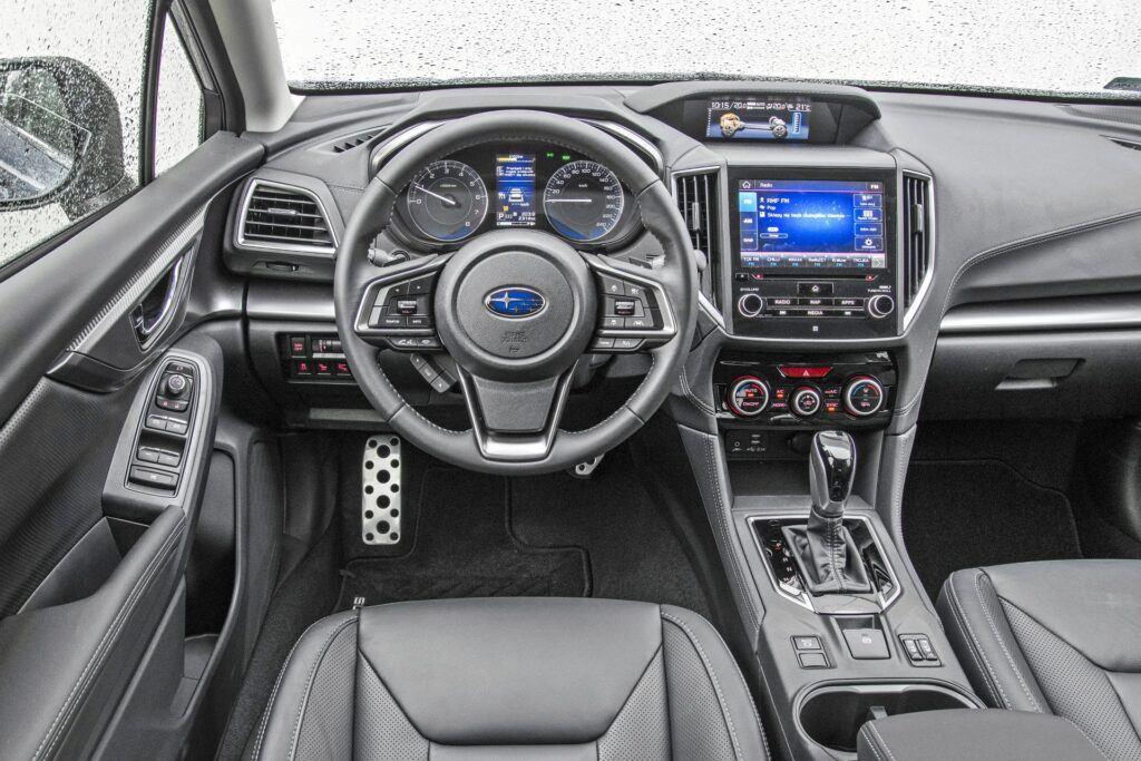 Subaru Impreza - deska rozdzielcza