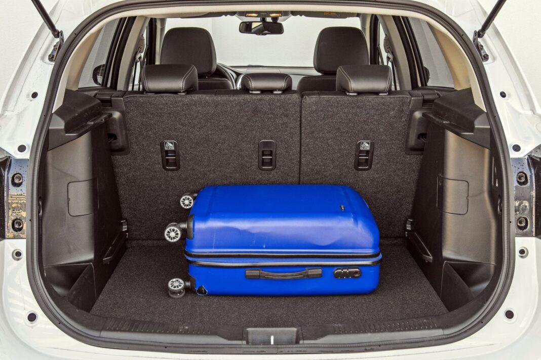 Suzuki SX4 S-Cross Hybrid - bagażnik