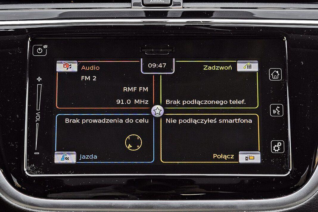 Suzuki SX4 S-Cross Hybrid - system multimedialny
