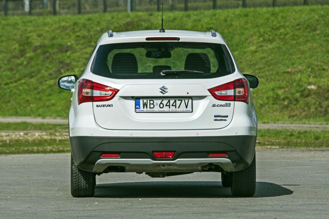 Suzuki SX4 S-Cross Hybrid - tył