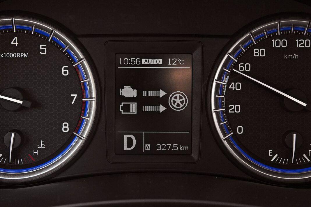Suzuki SX4 S-Cross Hybrid - wyświetlacz