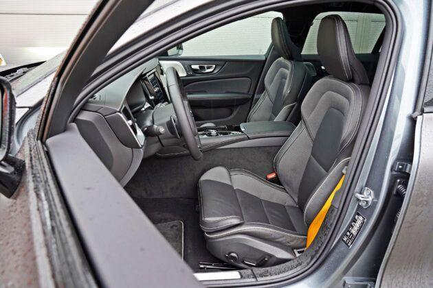 Volvo V60 - fotele przednie