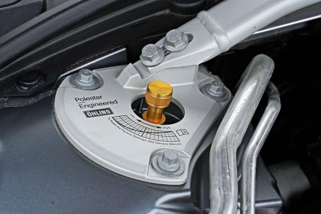 Volvo V60 - regulowane zawieszenie