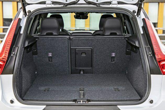 Volvo XC40 Recharge P8 - bagażnik