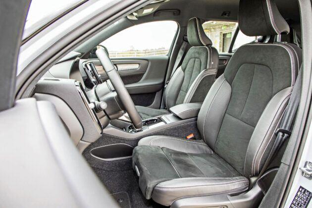 Volvo XC40 Recharge P8 - fotele przednie