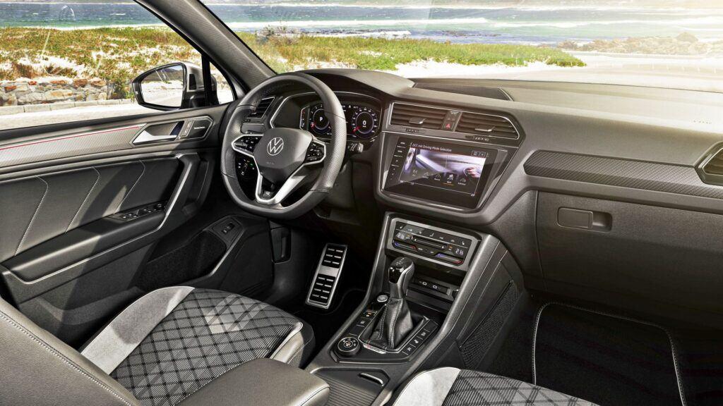 Volkswagen Tiguan Allspace - wnętrze
