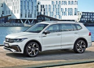 Volkswagen Tiguan Allspace po liftingu – oficjalne zdjęcia i informacje
