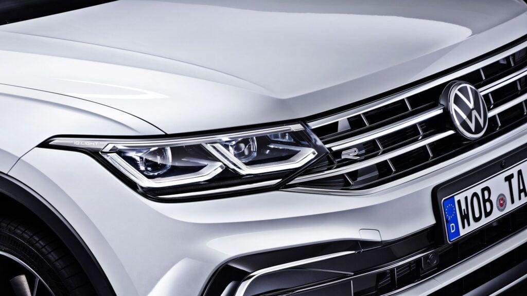 Volkswagen Tiguan Allspace - reflektor