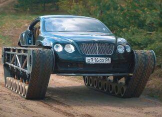 Bentley na gąsienicach? Oto ekskluzywny czołg – Bentley Ultratank