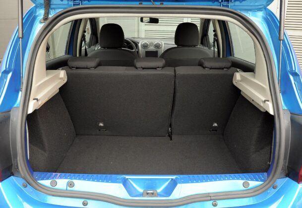 Dacia Sandero II bagażnik