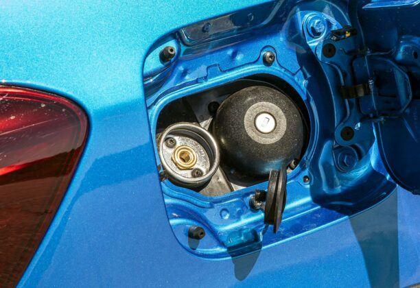 Dacia Sandero II wlew LPG