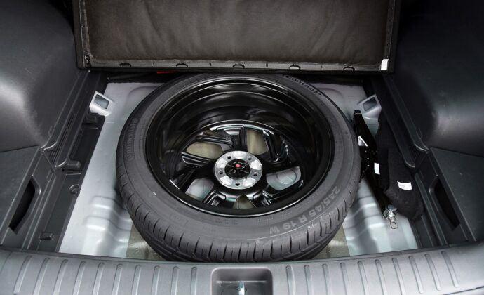Hyundai Tucson III TL koło zapasowe