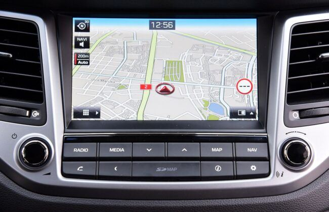 Hyundai Tucson III TL nawigacja