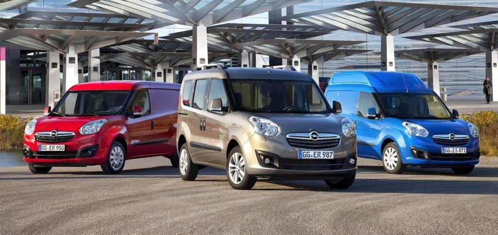 Opel Combo D wersje nadwoziowe