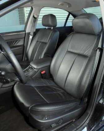 Peugeot 607 fotel kierowcy