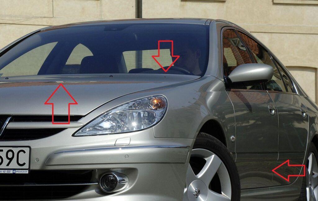 Peugeot 607 numer VIN