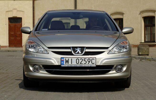 Peugeot 607 po liftingu