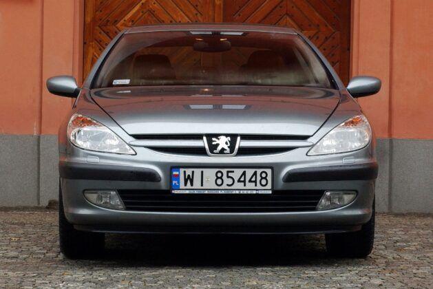 Peugeot 607 przed liftingiem