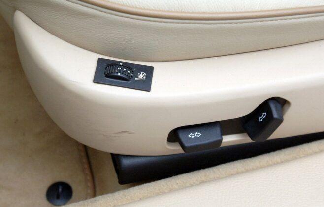Peugeot 607 wentylacja foteli